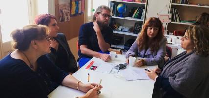 Erfaringsutveksling hos HS i Hellas
