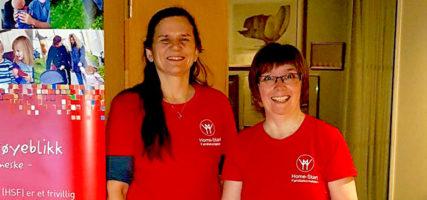 Til stede på frivillighetskonferanse i Stavanger